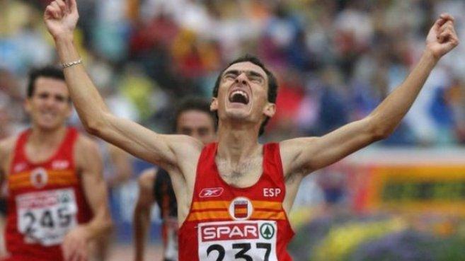 El atleta Jesús España.
