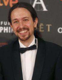 Pablo Iglesias, en la Gala de los Goya (Foto de Archivo).