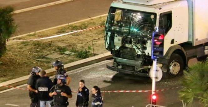 Atentado en Niza: Foto de France Truck Attack