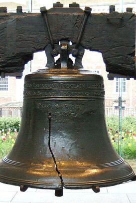Campana de la Libertad de Filadelfia.