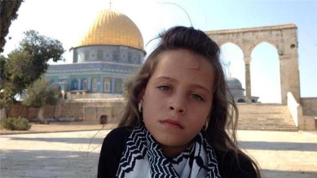 Janna Yihad, joven reportera palestina.