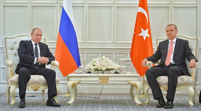 Putin y Erdogan.
