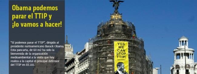 No al TTIP.