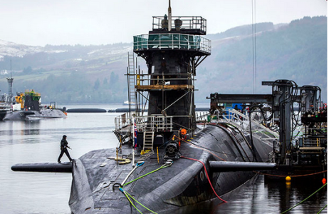 Submarino nuclear HMS Ambush de la Royal Navy