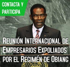 Expoliados por el régimen de Obiang Nguema.