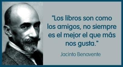 Benavente y los libros.