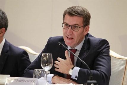 Núñez Feijóo, candidato a...
