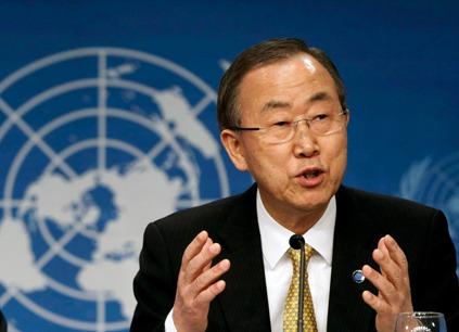 Secretario General de la ONU.