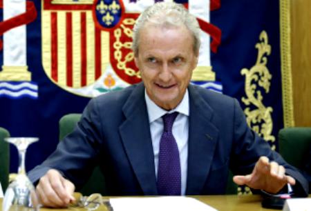 Pedro Morenés, Ministro de Defensa.