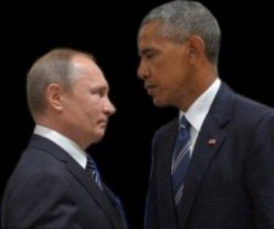 Vladimir Putin y Barack Obama.