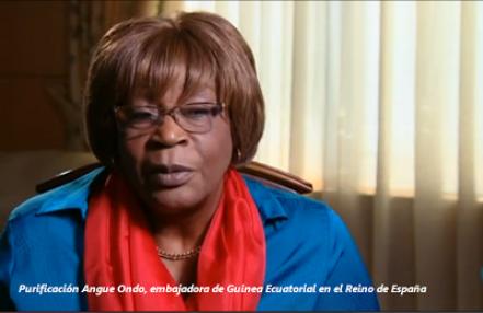 Embajadora de Guinea Ecuatorial,  Purificación Angué Ondo