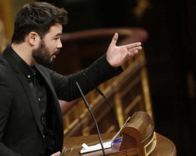 Gabriel Rufián, diputado de Esquerra Republicana de Catalunya.
