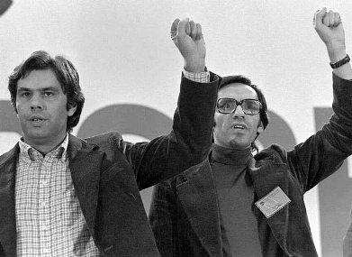 Felipe González y Alfonso Guerra: ¡No os abandonaremos!,