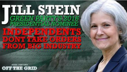 Jill Stein, candidata del Partido verde a la Casa Blanca.