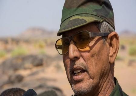 Abdal-lahe Lehbib, miembro del Secretariado  Nacional  del Frente Polisario y Ministro de Defensa Nacional de la RASD
