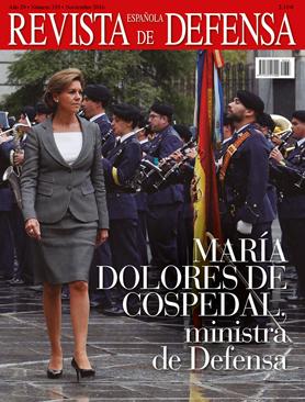 Ministra de Defensa, María Dolores de Cospedal.