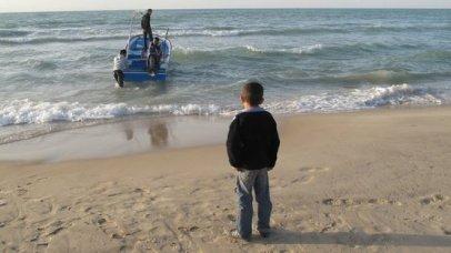 Atrapados en Gaza.