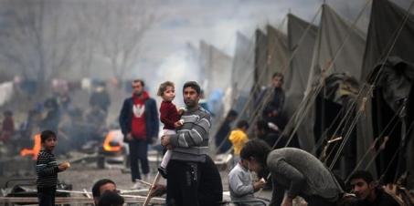 Inmigrantes en Bulagria (Foto archivo).