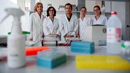 Científicos de la Universidad de Granada.