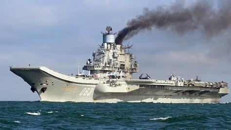 Portaaviones ruso Admiral Kuznetsov (Foto