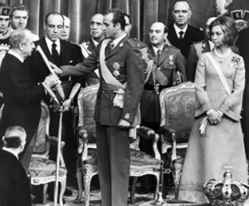 Juan Carlos I de España.