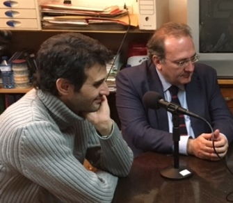 Raúl Peña y Javier Castro.