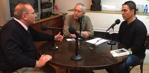 De izquierda a derecha Javier Castro, Eugenio Pordomingo y Juan Muñoz.