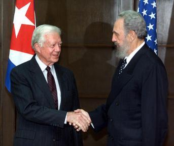 Carter y Castro.