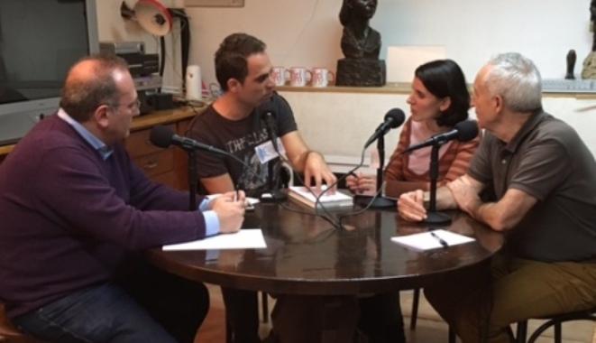 De izquierda a derecha, Javier Castro, Juan Muñoz, Yolanda Cerrato y Eugenio Pordomingo.