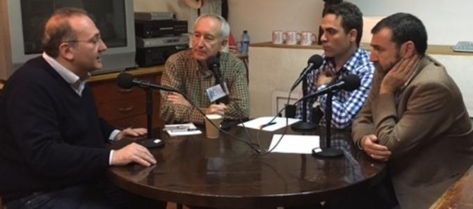 Javier Castro, Eugenio Pordomingo, Juan Muñoz y Aniceto Setién.