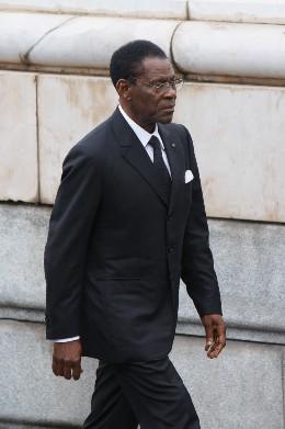 Teodoro Obiang Nguema.
