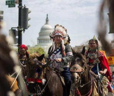 Tribu sioux, Standing Rock