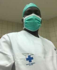 Oumar Salaou en plena operación